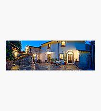 Tuscany Retreat Photographic Print