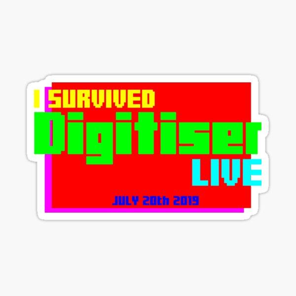 I Survived Digitiser Live Sticker