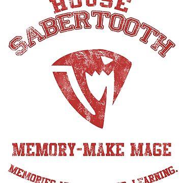 Memory-make mage of Sabertooth by scarletxtears