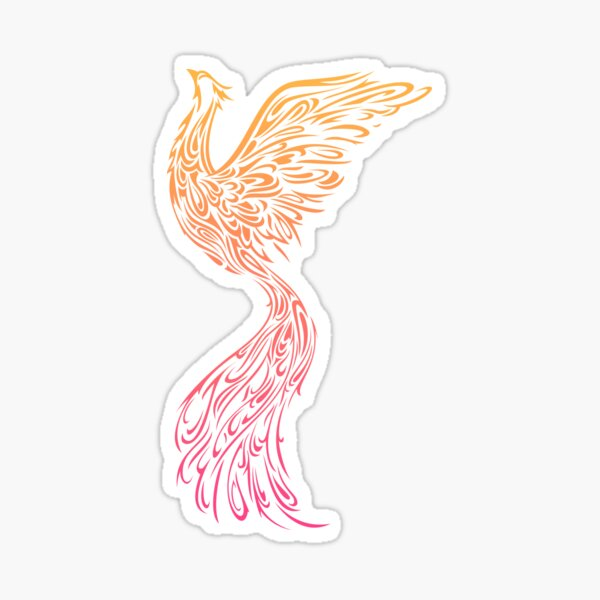 Phönix Sticker