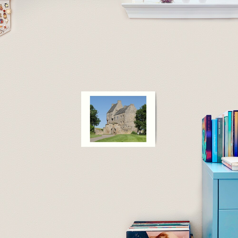 Midhope Castle , Hopetoun estate , near Edinburgh , Scotland Art Print