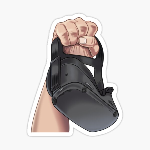 Quest Revolution Fist Sticker