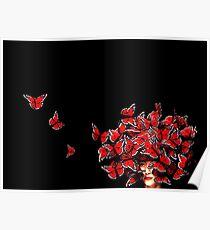 McQueen's Butterflies '08 Poster