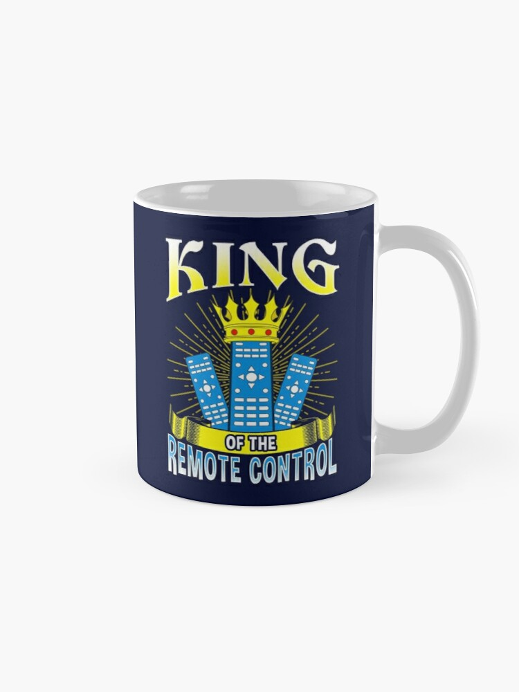 Alternate view of King of The Remote Control Mug