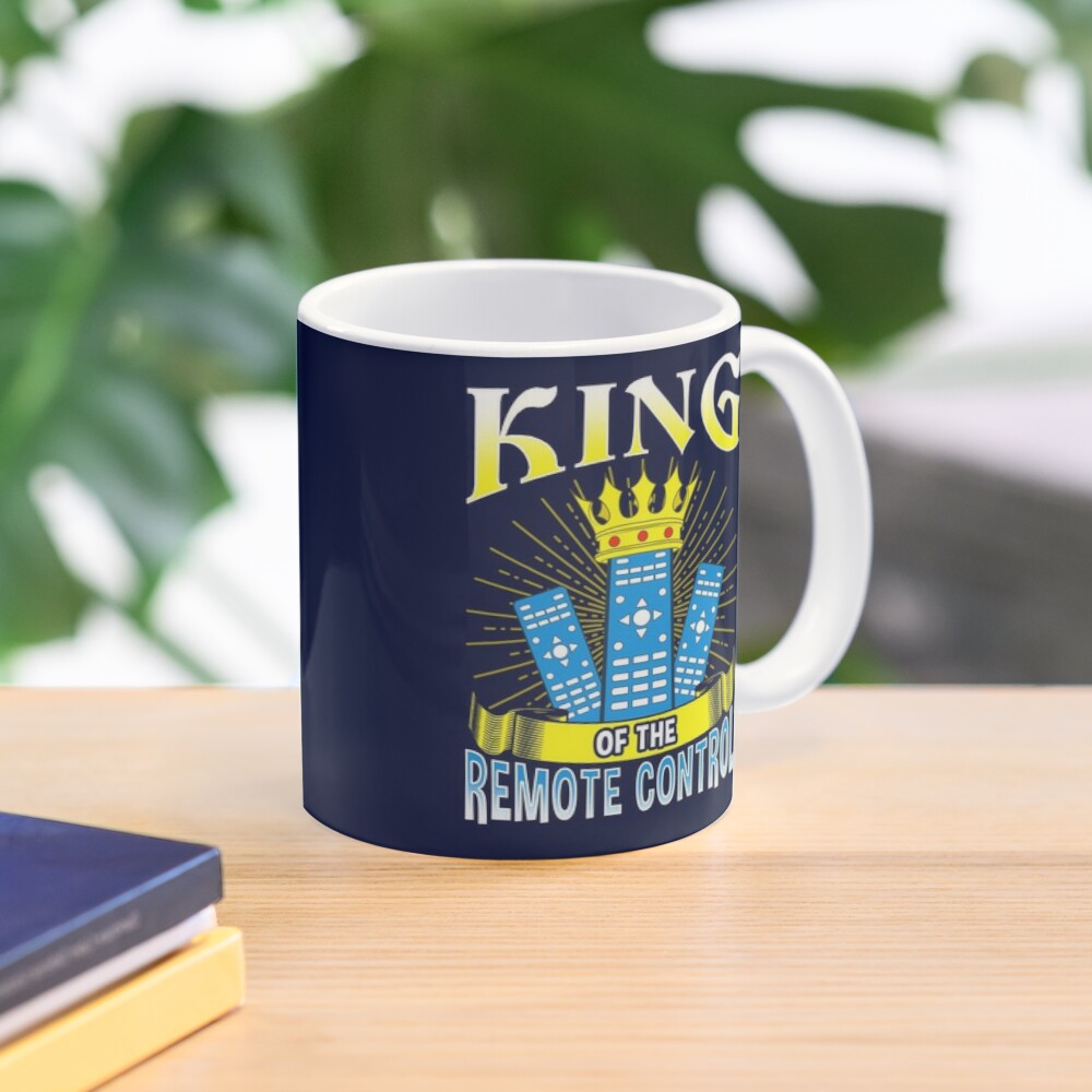 King of The Remote Control Mug