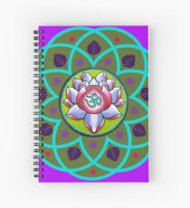 Flor De Loto Spiral Notebooks Redbubble