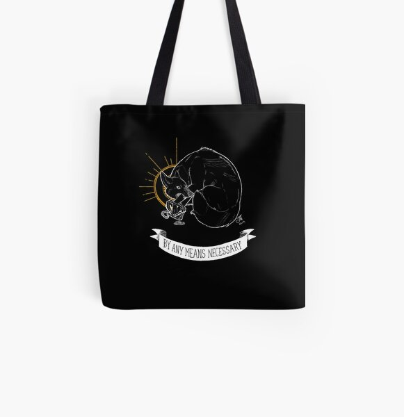 TRASH BLESSINGS - By Any Means Necessary All Over Print Tote Bag