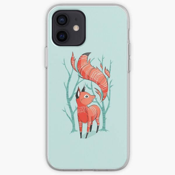 Winter Fox iPhone Soft Case