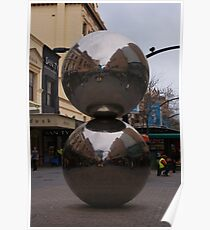 Rundle Mall Balls Poster