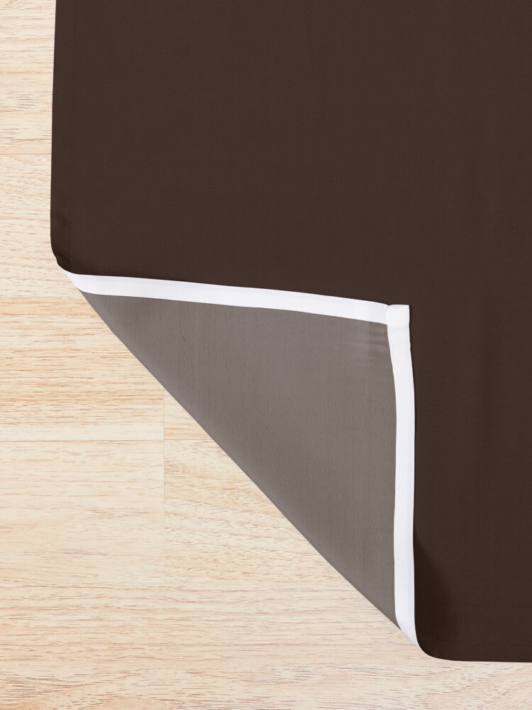 Alternate view of Kitsune Shower Curtain