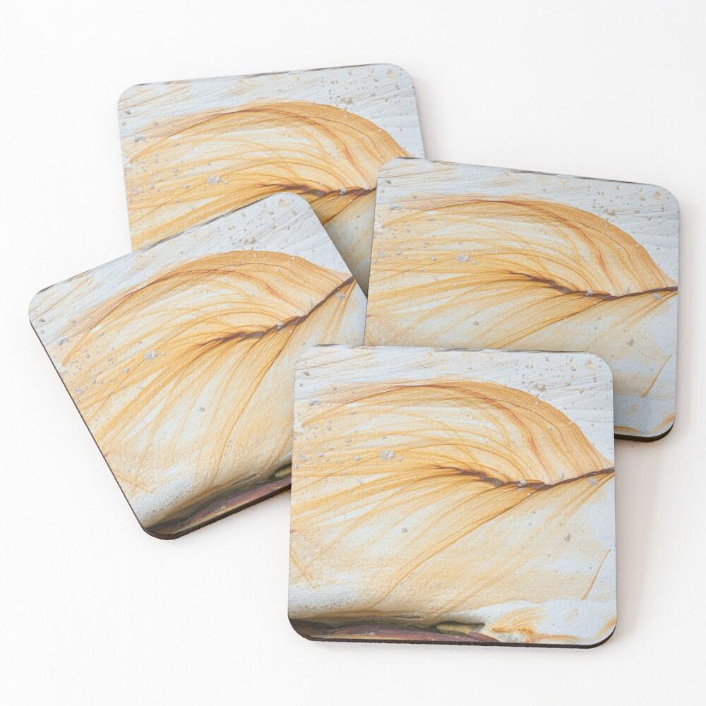 Beautiful old stone patterns Coasters (Set of 4)