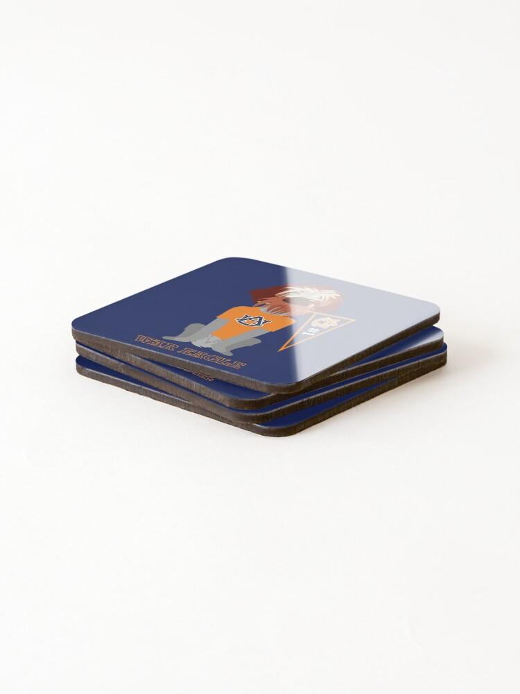 Alternate view of Banner Girl III Coasters (Set of 4)