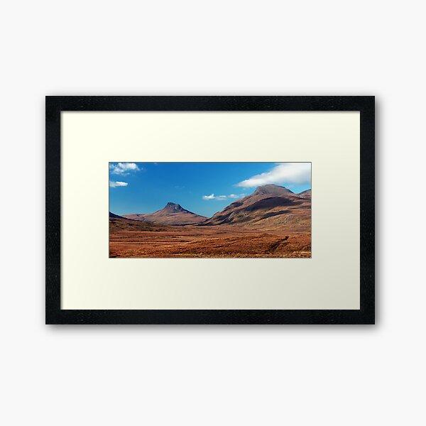 Stac Pollaidh Framed Art Print