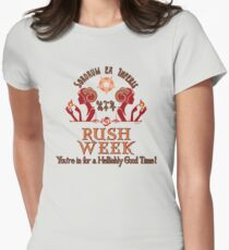 D&D Tiefling Rush Week Tee Womens Fitted T-Shirt