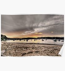 Sunset at Clairville Poster
