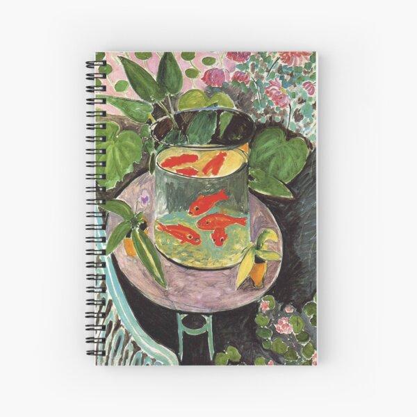 Henri Matisse Goldfish 1911, Goldfishes Artwork, Men, Women, Youth Spiral Notebook