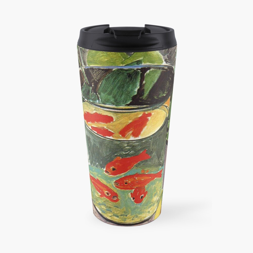 Henri Matisse Goldfish 1911, Goldfishes Artwork, Men, Women, Youth Travel Mug
