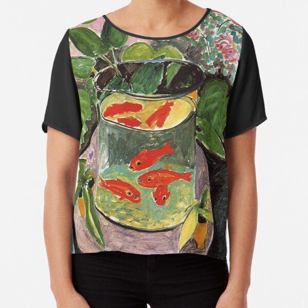 Henri Matisse Goldfish 1911, Goldfishes Artwork, Men, Women, Youth Chiffon Top