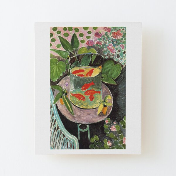 Henri Matisse Goldfish 1911, Goldfishes Artwork, Men, Women, Youth Wood Mounted Print
