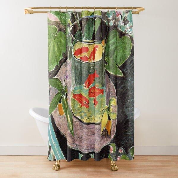Henri Matisse Goldfish 1911, Goldfishes Artwork, Men, Women, Youth Shower Curtain