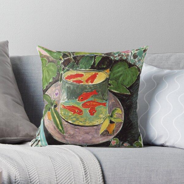 Henri Matisse Goldfish 1911, Goldfishes Artwork, Men, Women, Youth Throw Pillow