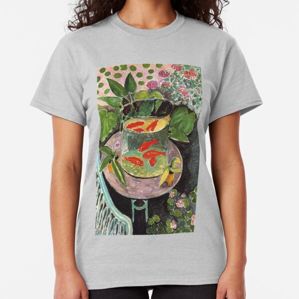 Henri Matisse Goldfish 1911, Goldfishes Artwork, Men, Women, Youth Classic T-Shirt