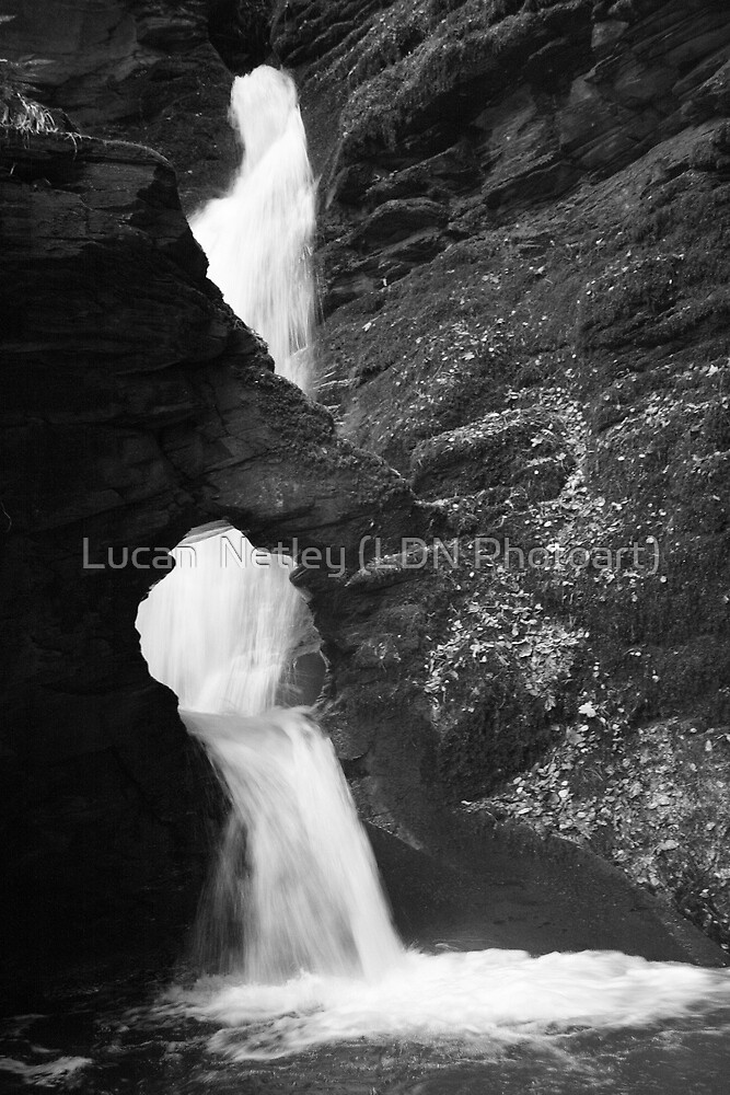 Smokey Falls.......... by Lucan  Netley (LDN Photoart)