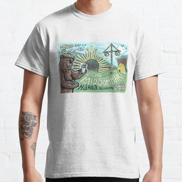 Ho-Ha, Glad Midsommar! Classic T-Shirt