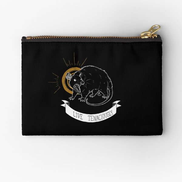 TRASH BLESSINGS - Live Tenaciously Zipper Pouch