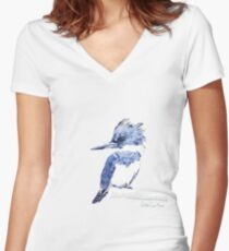 Kingfisher Fitted V-Neck T-Shirt