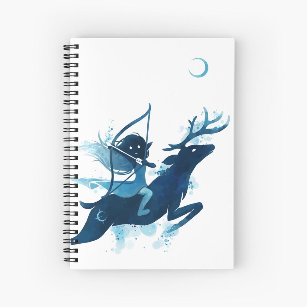 Elf Archer Spiral Notebook