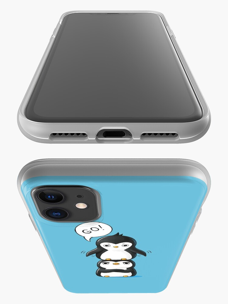 Alternate view of Penguins iPhone Case & Cover