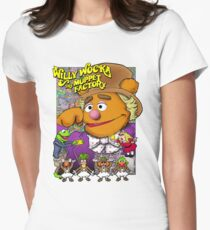 Willy Wocka and the Muppet Factory Women's Fitted T-Shirt