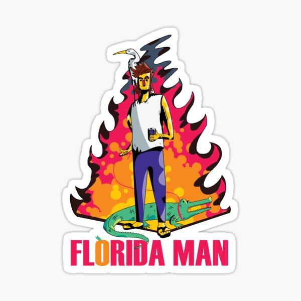 Florida Man Sticker