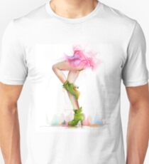 Shoes. Hand painted fashion illustration  T-Shirt