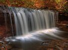 Oneida Falls (in Autumn) by Aaron Campbell