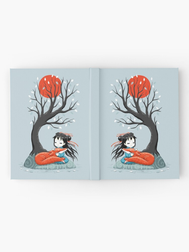 Alternate view of Girl and a Fox 2 Hardcover Journal