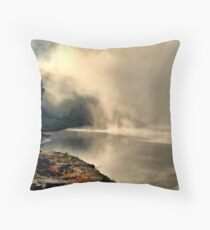 Morining on the Tennessee River Throw Pillow