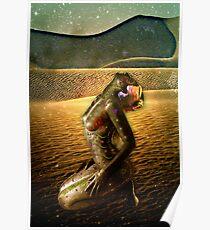 desert mo-rose Poster