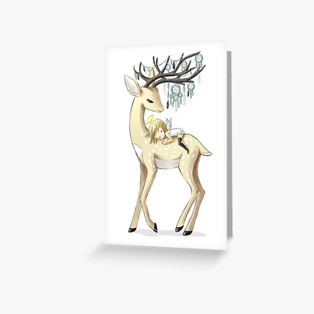 Dream Guide 2 Greeting Card