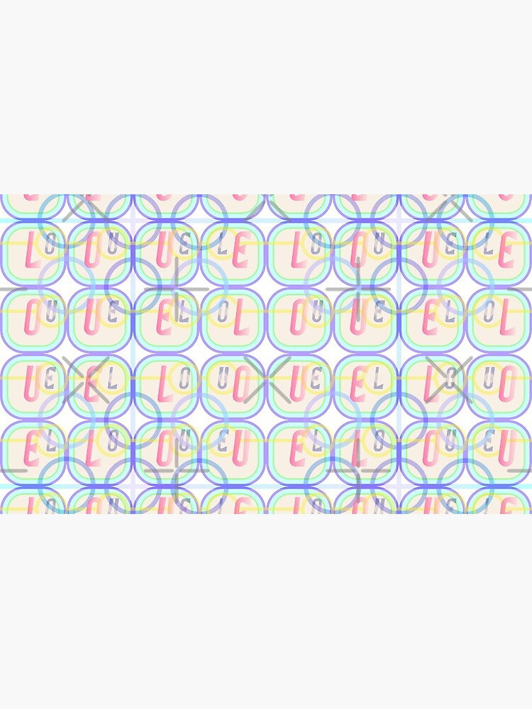 Love Squared Seamless Tiles by uniiunMB