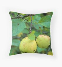 Fruit in the Woods Throw Pillow