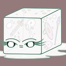 a friendly gelatinous cube (clear) by tentaclemade
