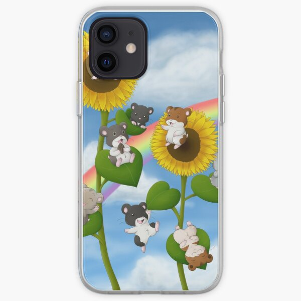 Sunflower Hamsters iPhone Soft Case