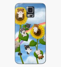Sunflower Hamsters Case/Skin for Samsung Galaxy