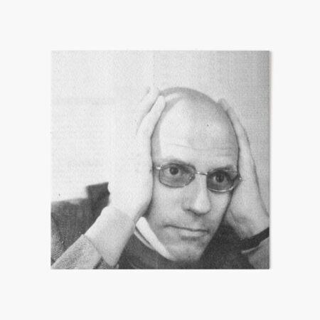 Read Foucault  Art Board Print