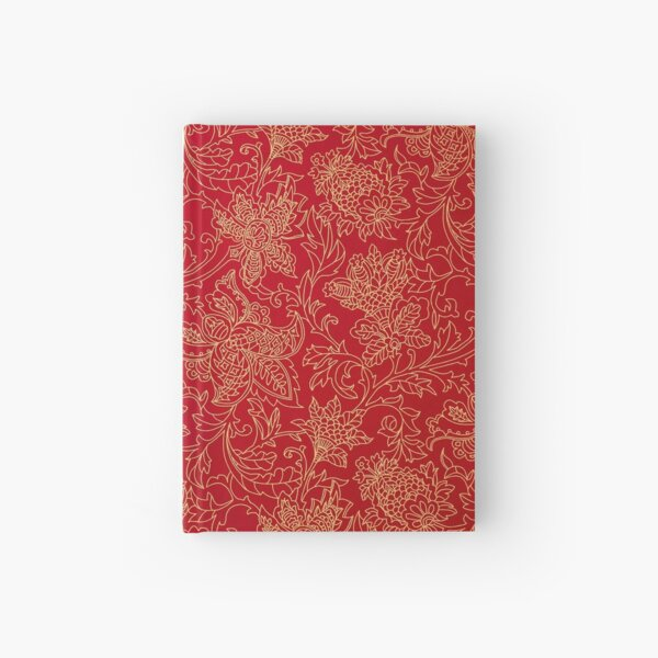 Victorian Christmas Pattern Hardcover Journal