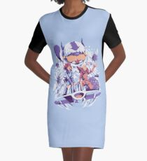 From the valley of the wind Graphic T-Shirt Dress