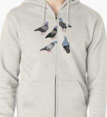 Design 33 - Die Tauben Kapuzenjacke