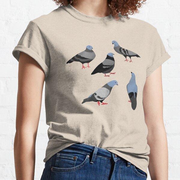 Design 33 - The Pigeons Classic T-Shirt